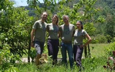 Working in partnership & friendship with Community Cloud Forest Conservation
